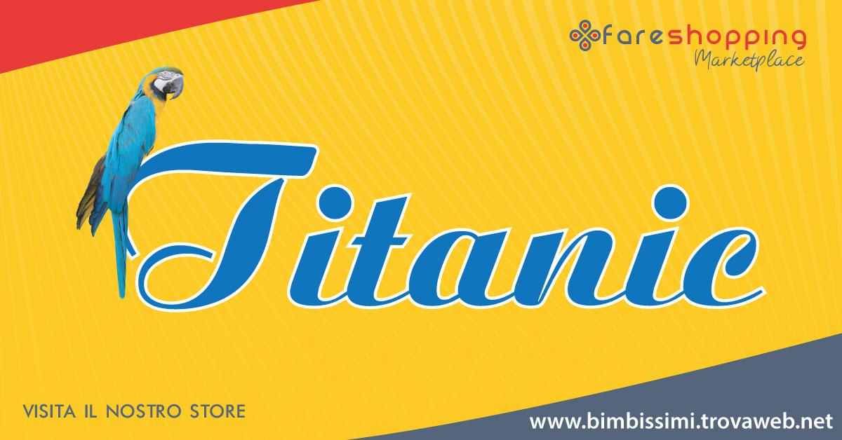 Shop Online - Articoli Animali Domestici Titanic
